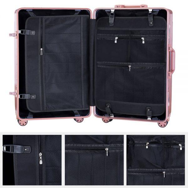 aluminum frame luggage