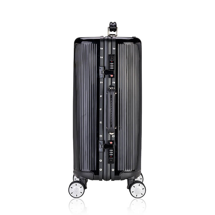 aluminum suitcase luggage