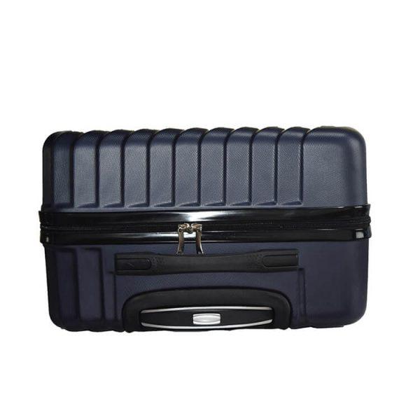 abs pc hard shell luggage zipper