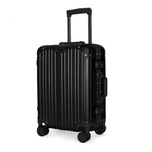 aluminum frame carry on luggage